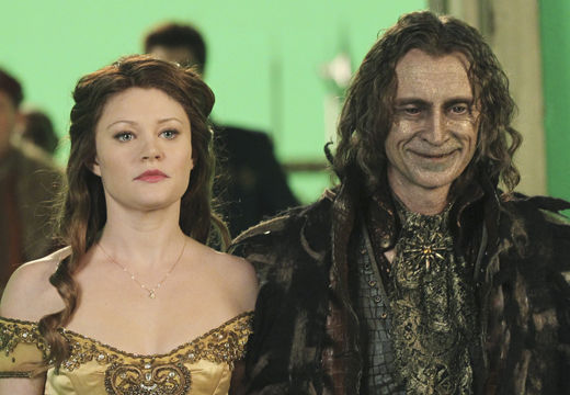 Emilie de Ravin on Once Upon a Time