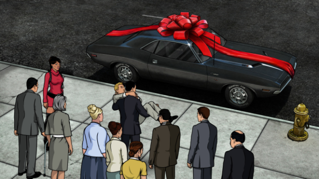 Archer's Dodge Challenger