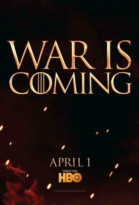 War is Coming Poster