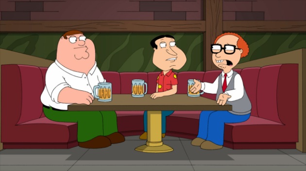 Peter, Quagmire and Mort