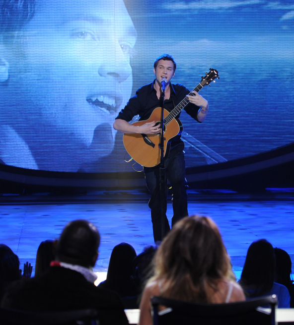 Phillip Phillips on American Idol