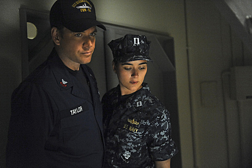 Tony and Ziva on Board