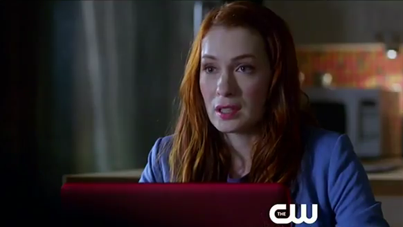 Felicia Day on Supernatural