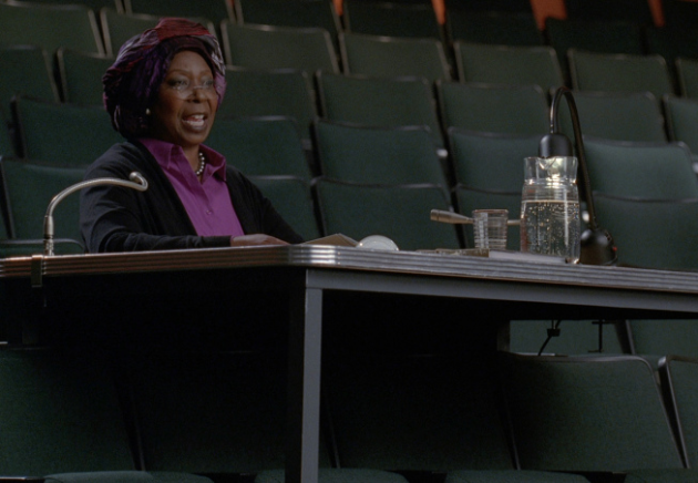 Whoopi Goldberg on Glee