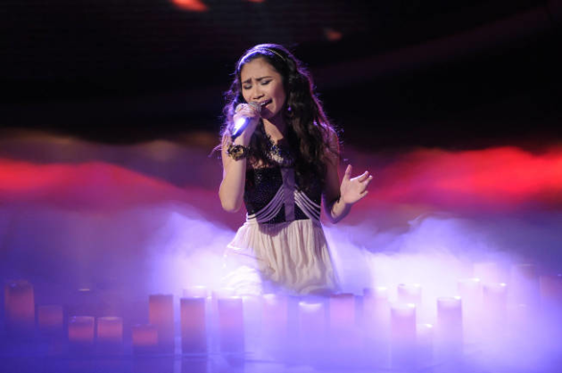 Jessica Sanchez in Action