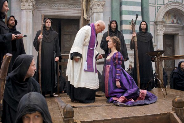 Scene from The Borgias