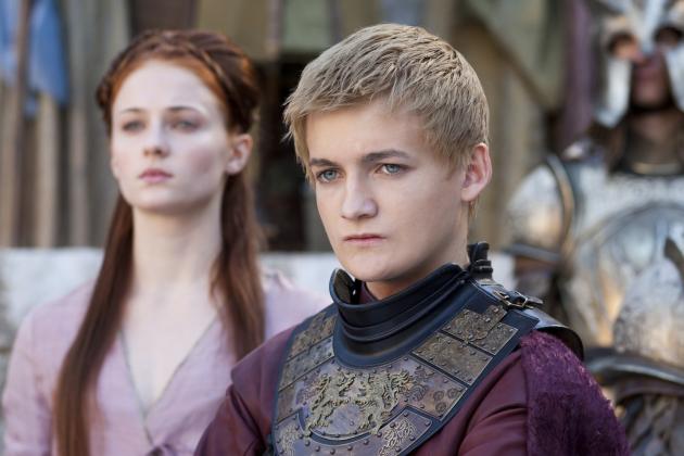 Joffrey and Sansa