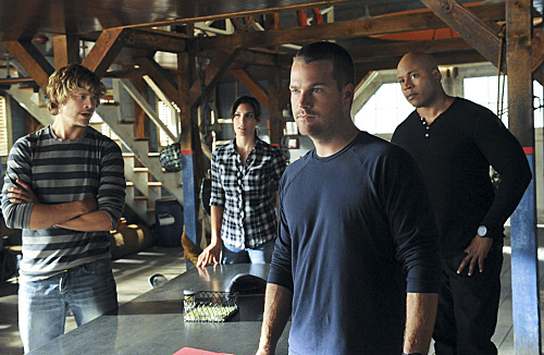NCIS: LA Team in Action