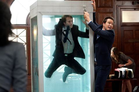 Jared In the AquaCage