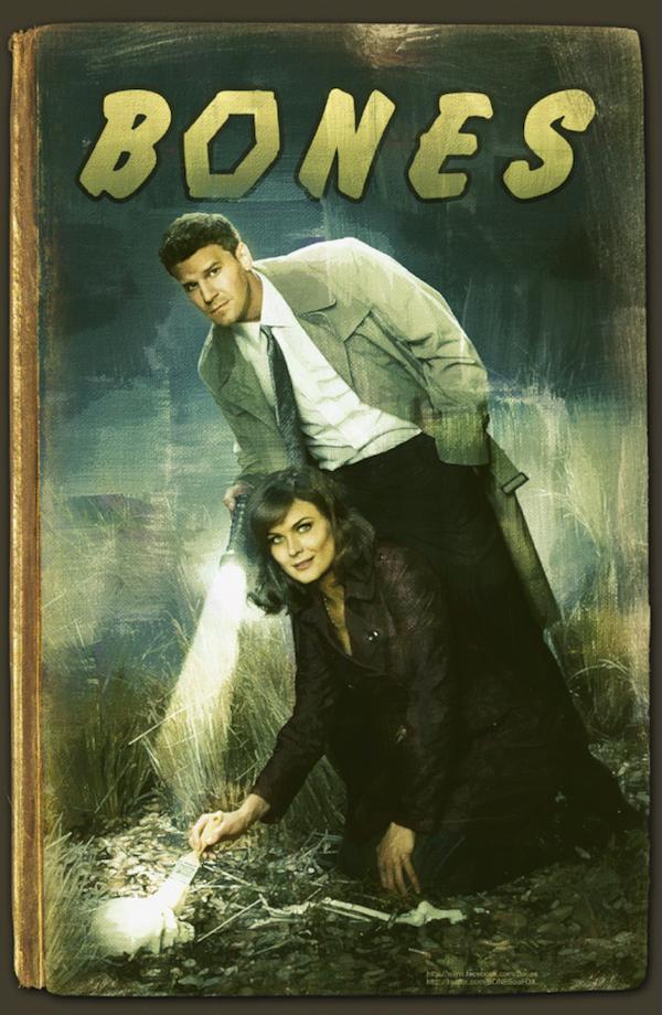 Bones Comic-Con 2012 Poster
