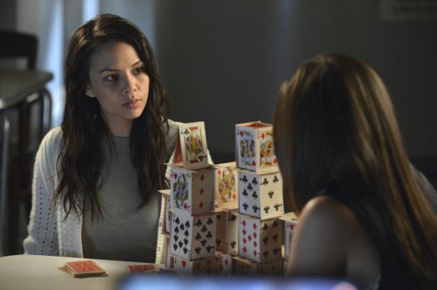 Mona and Her House of Cards