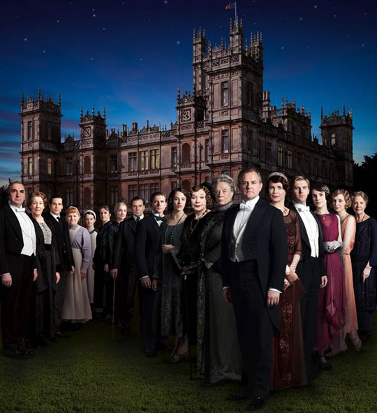 Downton Abbey Cast Pic