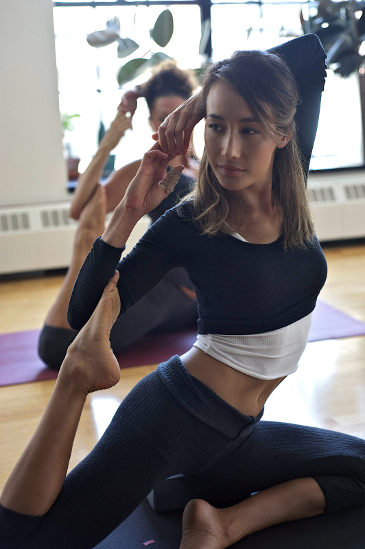 Nikita in Yoga