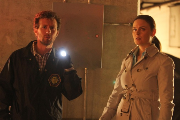 Hodgins and Brennan Photo