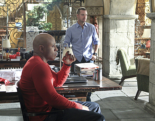 Callen and Sam on NCIS LA