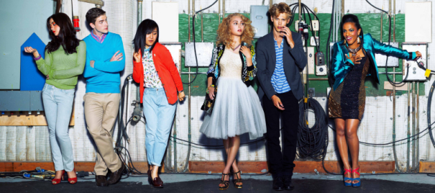 The Carrie Diaries Cast Pic