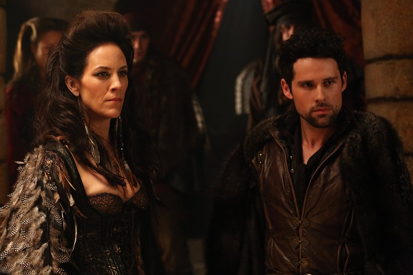 Annabeth Gish on Once Upon a Time