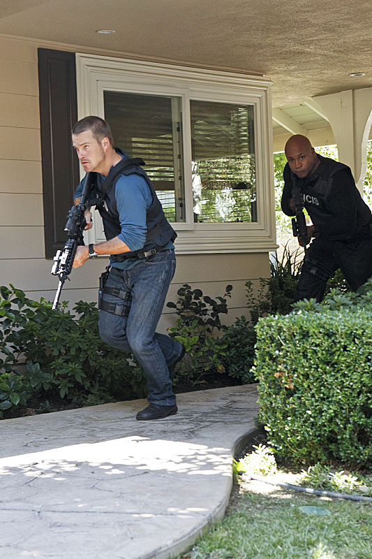 Callen and Hanna on the Move