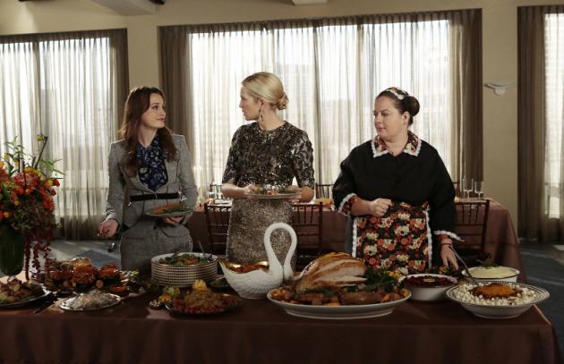 Thanksgiving on Gossip Girl