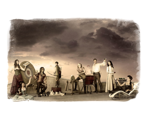 Once Upon a Time Cast Print