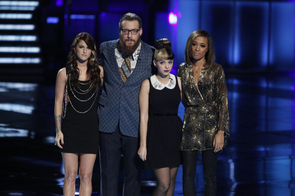 The Voice Top 6 Results