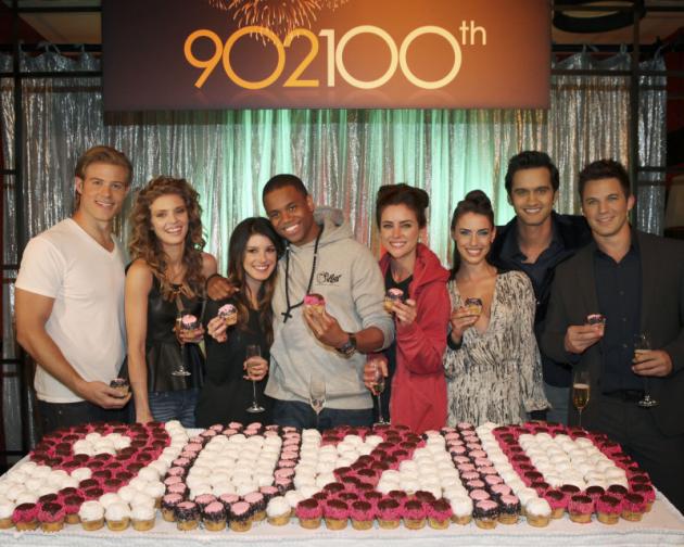 90210 Cast Celebration