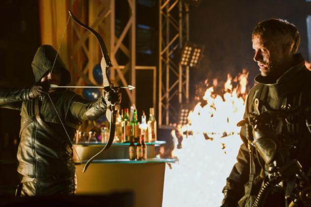 Arrow vs. Firefighter