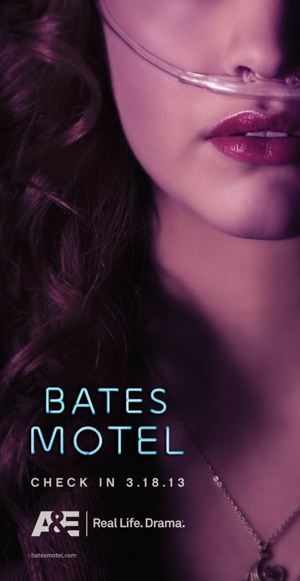 Creepy Bates Motel Poster
