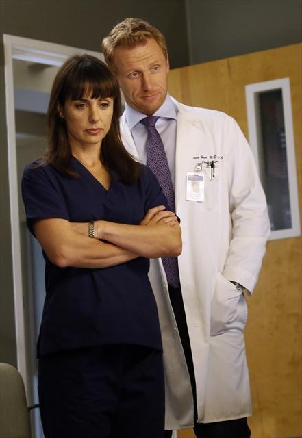 Constance Zimmer on Grey's Anatomy