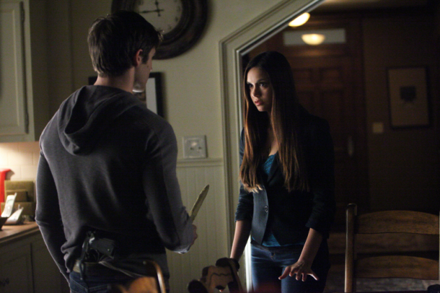 Knife at Elena
