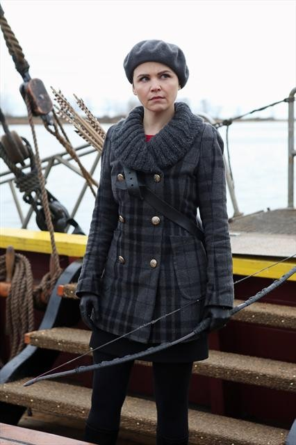 Mary Margaret with a Crossbow