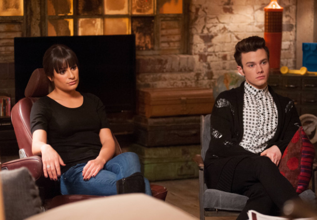 Rachel with Kurt
