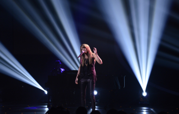 Angie Miller on American Idol