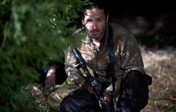 The Walking Dead Season Finale Pic