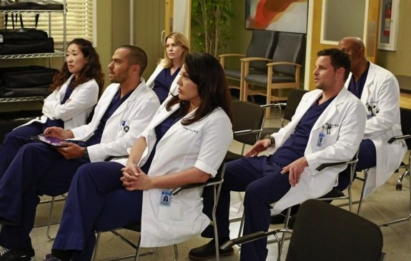 Grey Sloan Staff Meeting
