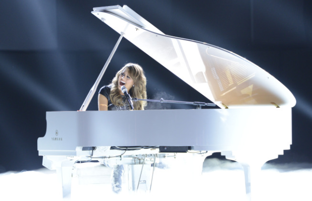 Angie Miller at the Piano