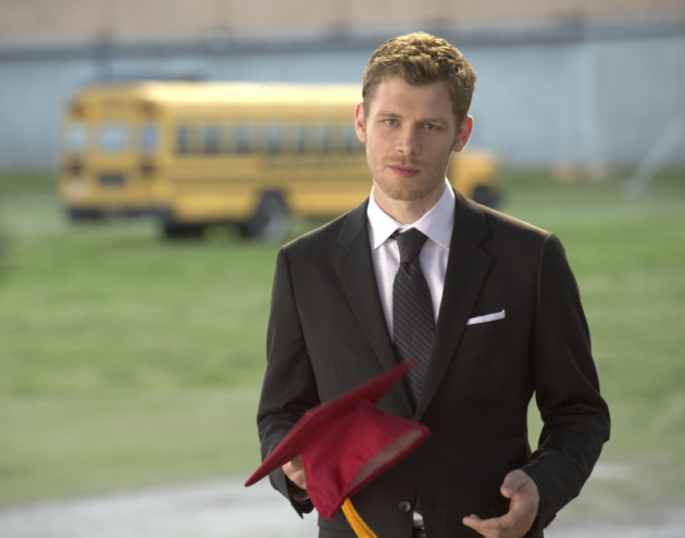 Klaus at Graduation