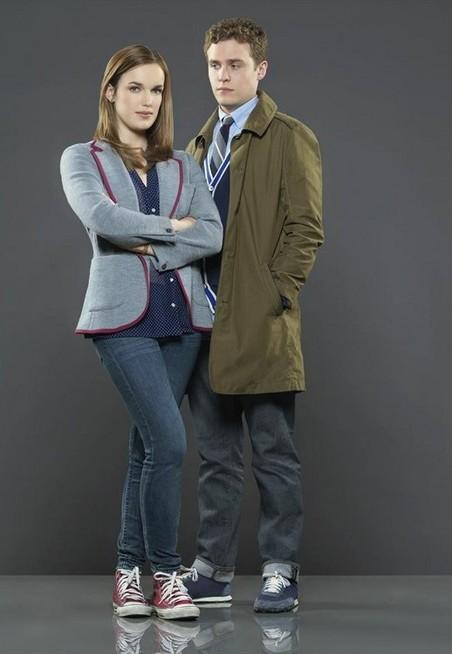 Iain De Caestecker and Elizabeth Henstridge