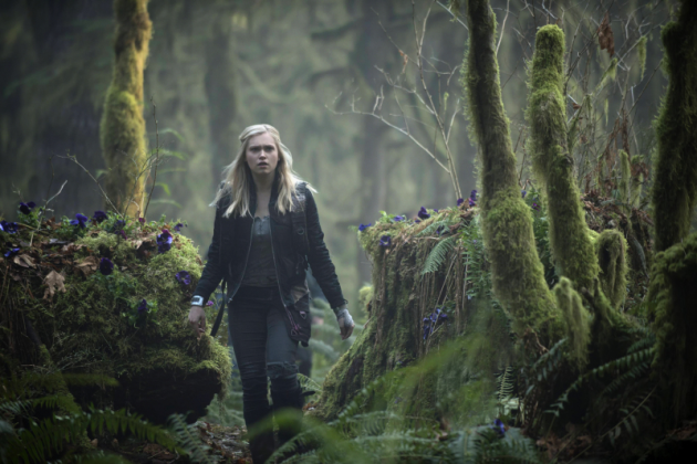 Eliza Taylor on The 100