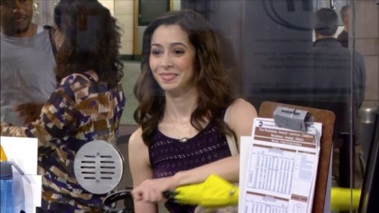 Cristin Milioti on HIMYM