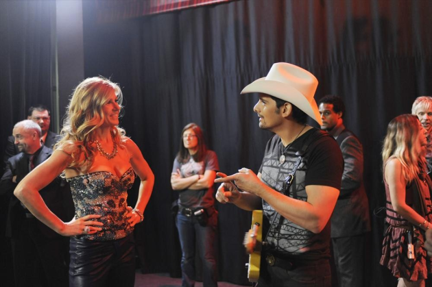 Performing With Brad Paisley