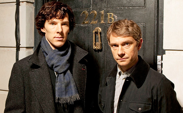 Sherlock and Watson Photo