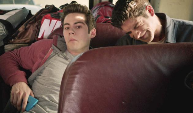 Scott and Stiles in Hiding