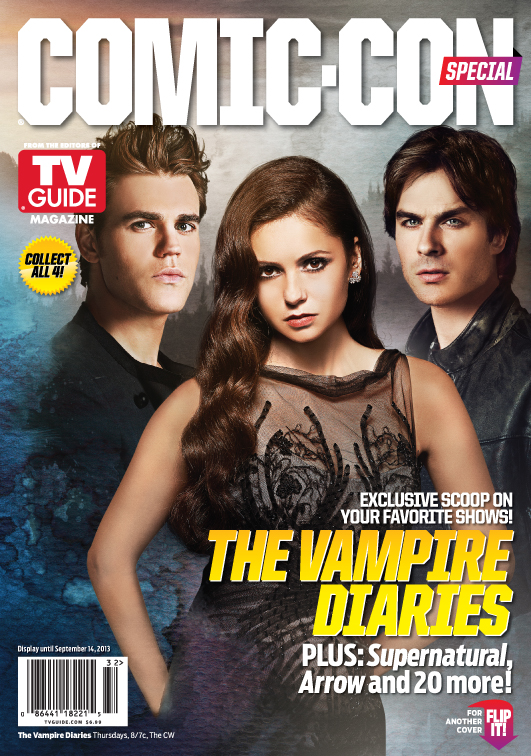 Vampire Diaries Comic-Con Cover