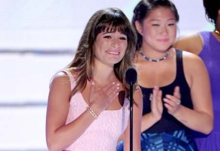 Lea Michele at the Teen Choice Awards