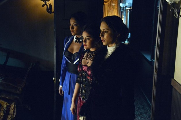 Emily, Aria and Spencer