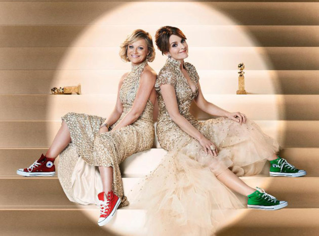 Tina Fey and Amy Poehler for the Globes