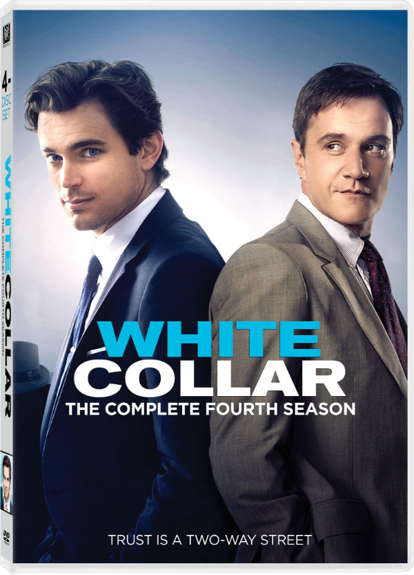 White Collar 4th Season DVD Photo