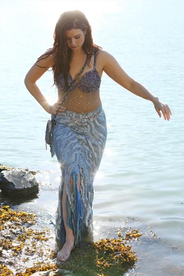 A Mermaid on Land