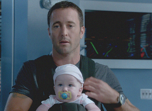 McGarrett with a Baby
